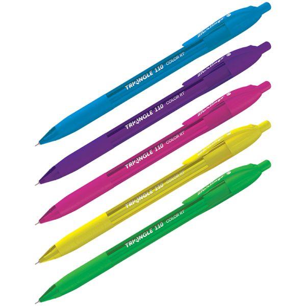 Ручка автоматическая «Triangle 110 RT Color», синяя