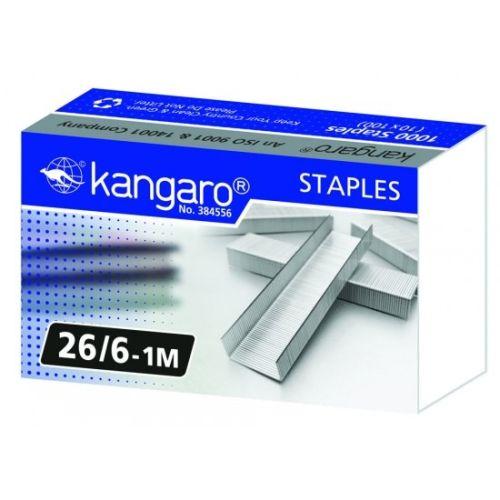 Скобы для степлера №26 «KANGARO»