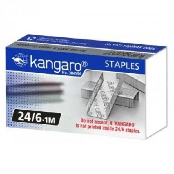 Скобы для степлера №24 «KANGARO»