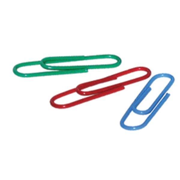 Скрепки цветные с виниловым покрытием «SPONSOR»