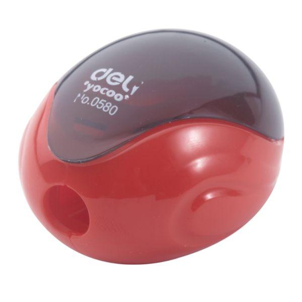 Точилка пластиковая «DELI-0580», 1 отверстие