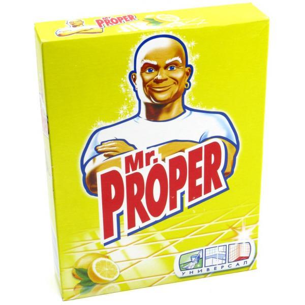 Универсальный моющий порошок для уборки «Mr.Proper», 400 г