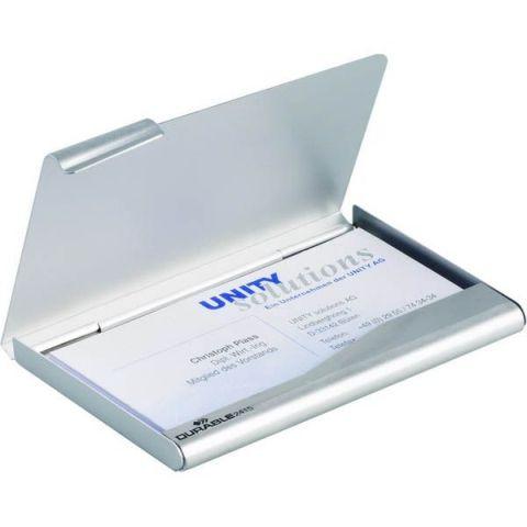 Визитница металлическая BUSINESS CARD BOX